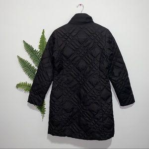 Eddie Bauer Jackets & Coats - Eddie Bauer Down Trench Coat Goose Black Small